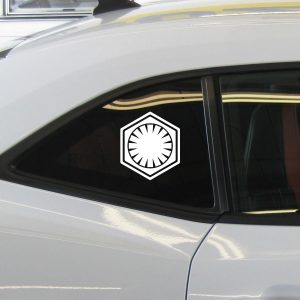 Star Wars First Order Decal Sticker