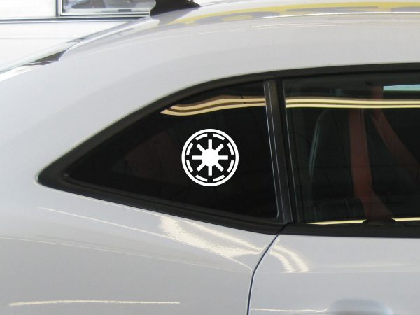 Star Wars Galactic Republic Decal Sticker