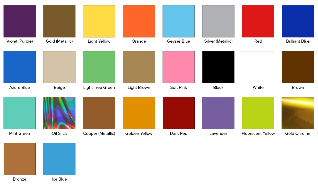 Vinyl Swatch Color Options v1.6
