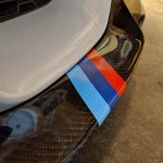 BMW M Performance Sport Color Stripe Decal Sticker