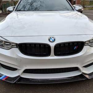 BMW M Performance Sport Color Stripe Decal Sticker 2