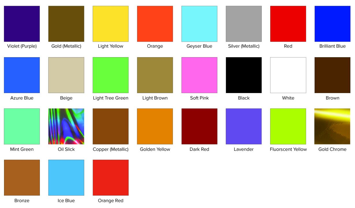 Vinyl Swatch Color Options v1.7